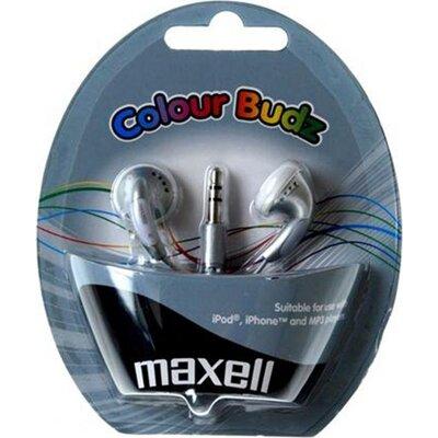 Слушалки  MAXELL Colour BUDZ, In-Ear, Сребрист
