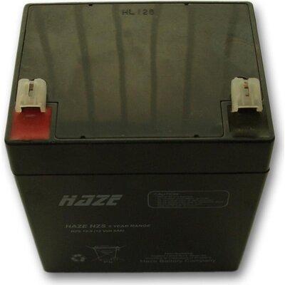 Оловна Батерия Haze (HZS12-5) 12V / 5Ah - 90 / 70 / 101mm AGM - HAZE-12V/5/AGM