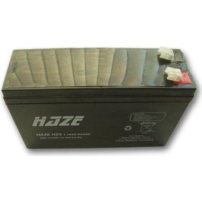 Оловна Батерия Haze (HZS12-6HR) 12V / 6Ah High Rate - 151/ 51/ 93mm AGM - HAZE-12V/6HR/AGM