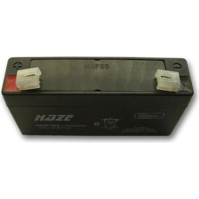 Оловна Батерия Haze HZS6-1.3, 6V / 1.3Ah- 98/25/52mm AGM - HAZE-6V/1.3/AGM