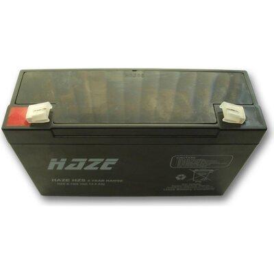 Оловна Батерия Haze (HZS6-12) 6V / 12 Ah - 151 / 50 / 95mm AGM - HAZE-6V/12/AGM