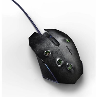 Геймърска мишка HAMA uRage Bullet оптична, USB, Черен