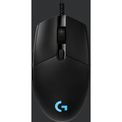 Геймърска мишка Logitech G Pro Hero, Оптична, Жична, USB