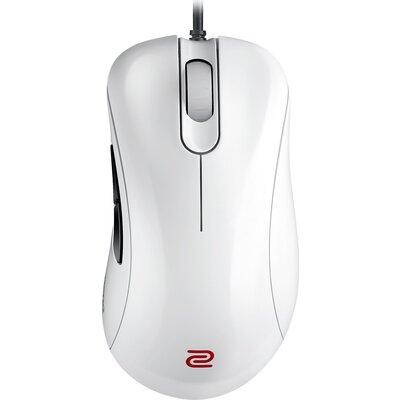 Геймърска мишка ZOWIE EC2-A, Оптична, Кабел, USB, Бяла