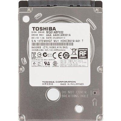Хард диск за лаптоп TOSHIBA, 320 GB, 5400rpm, 8MB, SATA, MQ01ABD032 - MQ01ABD032