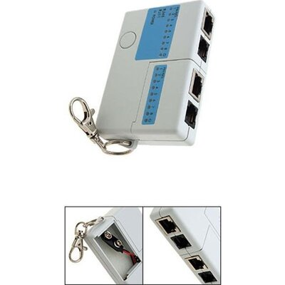Тестер за кабели RJ-45/RJ-11 ESTILLO - 53056