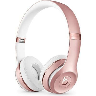 Слушалки Beats Solo3, Wireless Headphones, Rose Gold
