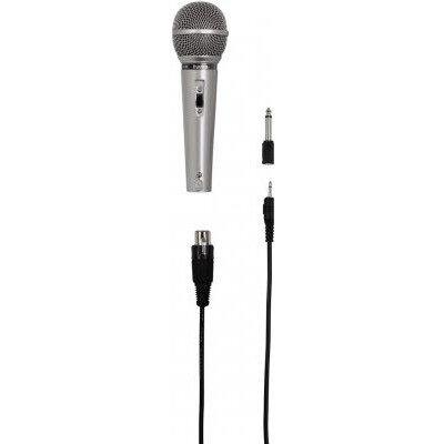 Аудио микрофон HAMA DM-40, сив, 3м кабел. 6.3мм адаптер - DM 40