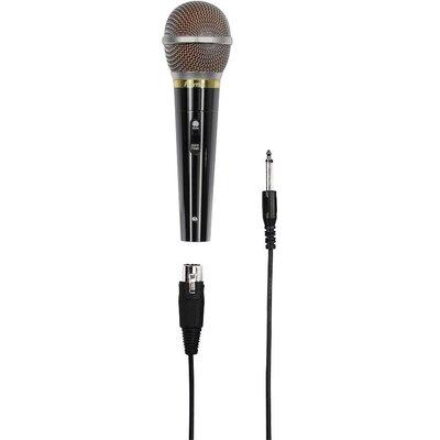 Аудио микрофон HAMA DM 60, 3м кабел. 6.3мм жак, черен - DM 60