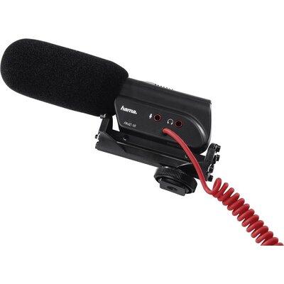 Микрофон за камера HAMA RMZ-18, кардиоиден, 3.5 mm жак, Черен