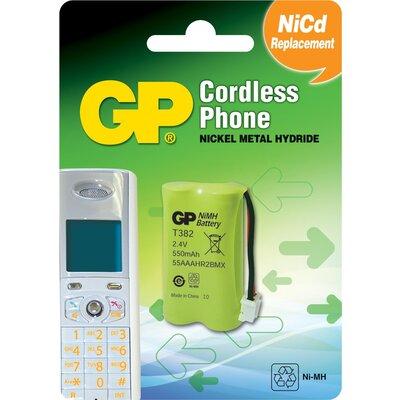Батерия за телефон GP  2*AАA 2.4V NiMH 550mAh GPT382 - GP-TB-T382
