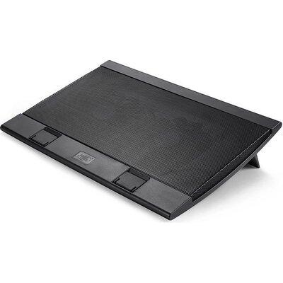 """Охладител за лаптоп DeepCool WIND PAL, 17"""", 2x140 mm, Черен"""