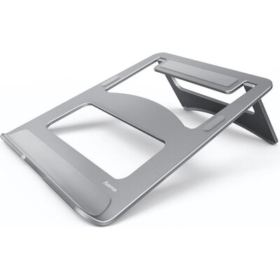 "Поставка за преносим компютър Hama Aluminium, 15,4"", сребрист"