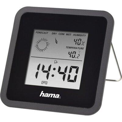 Цифров термометър/хигрометър HAMA TH50, Черен -