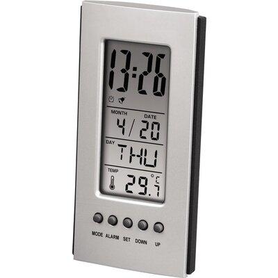 Електронна метеостанция HAMA 75298, LCD, Сив -