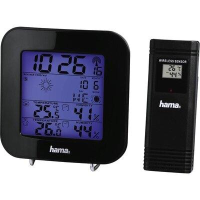 Електронна метеостанция HAMA EWS-200, 186310,  черен -