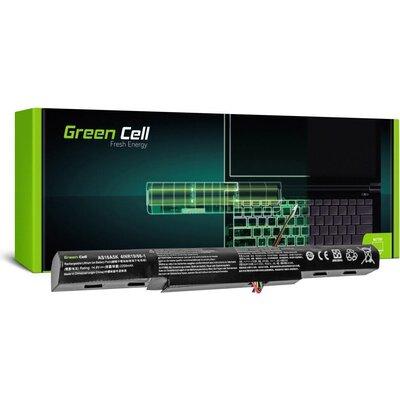 Батерия  за лаптоп Acer Aspire E 15 E15 E5-575 E5-575G E 17 E17 E5-774 E5-774G AS16A5K 14.8V 2200mAh GREEN CELL