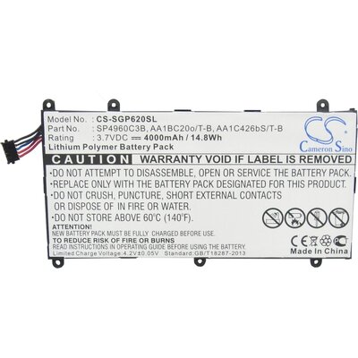 Батерия  за таблет SAMSUNG  SGP620SL 3,7V 4000mAh LiPo Cameron Sino