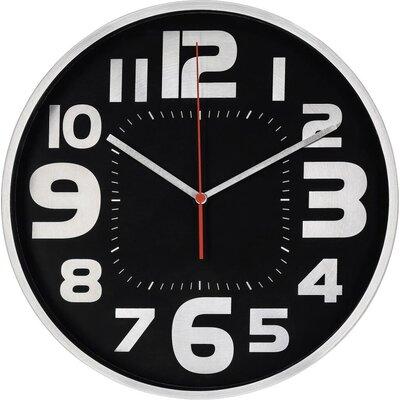 Стенен часовник Hama Emotion, Ниско ниво на шум, 30 см., Сребрист