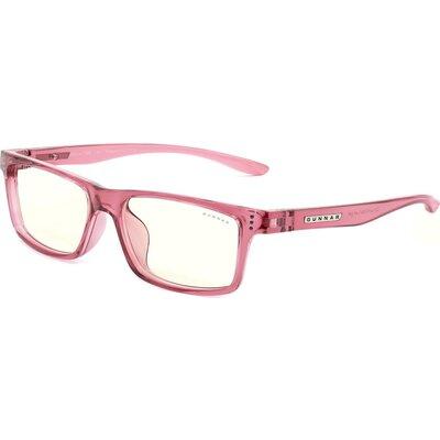 Детски компютърни очила GUNNAR Cruz Kids Large, Clear Natural, Розов