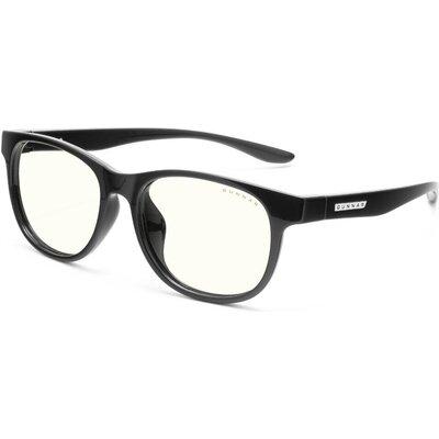 Детски компютърни очила GUNNAR Rush Kids Large, Clear Natural, Черен