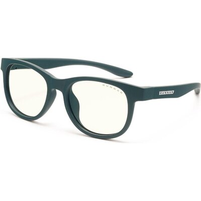Детски компютърни очила GUNNAR Rush Kids Small, Clear Natural, Зелен
