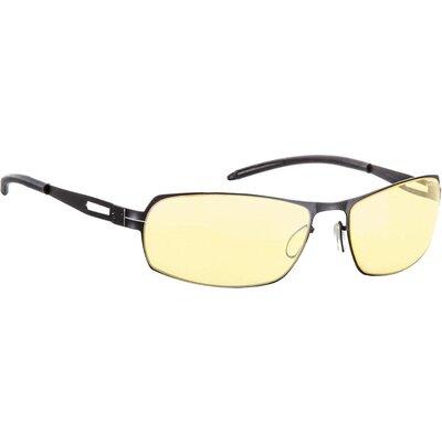 Геймърски очила GUNNAR Cyber Onyx, Amber, Черен