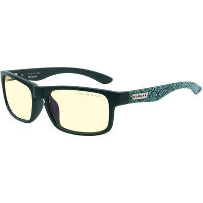 Геймърски очила GUNNAR OPTICS Enigma Teal, Amber, Assassin's Creed Valhalla, Черен