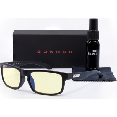 Комплект GUNNAR Assassin's Creed Onyx Case Promo Pack  - Очила, калъф, почистващ спрей