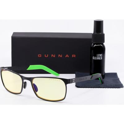 Комплект GUNNAR FPS Onyx Case Promo Pack - Очила, калъф, почистващ спрей