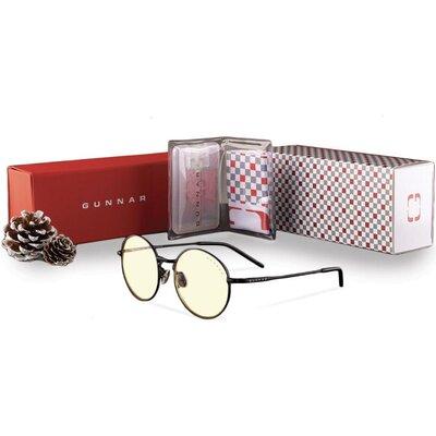 Комплект GUNNAR OPTICS Ellipse Onyx Holiday Bundle - Очила, калъф, почистващ спрей