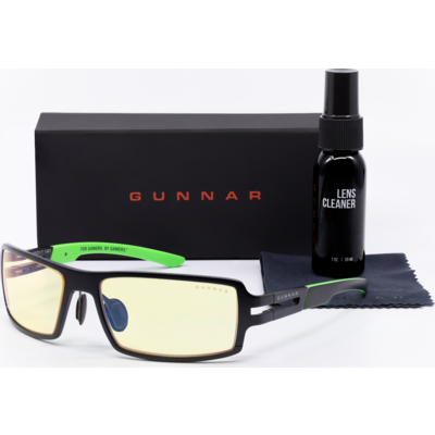 Комплект GUNNAR RPG Onyx Case Promo Pack  - Очила, калъф, почистващ спрей