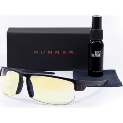Комплект GUNNAR Torpedo Onyx Case Promo Pack  - Очила, калъф, почистващ спрей