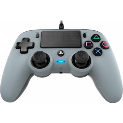 Жичен геймпад Nacon Wired Compact Controller, Сребърен