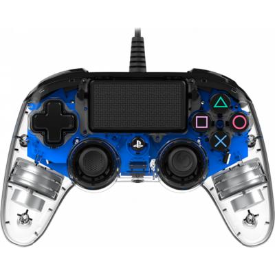 Жичен геймпад Nacon Wired Illuminated Compact Controller Blue, Син