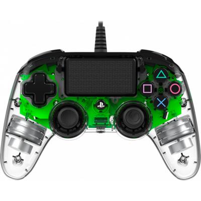 Жичен геймпад Nacon Wired Illuminated Compact Controller Green, Зелен