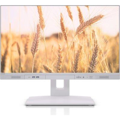 """Компютърна система All-in-one Fujitsu Esprimo K5010/24, Intel Core i5-10500, 8GB, SSD 256GB 2.5"""", 23.8"""", Бяла"""