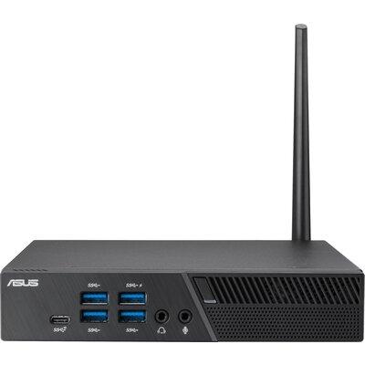 """Настолен компютър ASUS Mini PC PB50-BR072MD, AMD Ryzen 5-3550H, 24/7 reliability, TPM, 8GB DDR4, 128GB M.2 + 1* 2.5"""" Slot,W"""