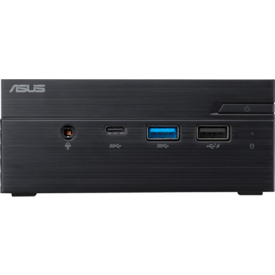 "Настолен компютър ASUS Mini PC PN40-BB013M Celeron N4000 (fanless) 2x SO-DIMM DDR4/ 1*M.2 Slot+ 1* 2.5"" Slot t /Wi-Fi AC /"