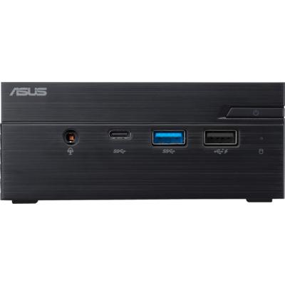 """Настолен компютър ASUS Mini PC PN40-BBP335MC, Intel® Pentium™J5005 / 2X SO-DIMM DDR4 / 1*M.2 + 1* 2.5"""" / WI-FI AC /COM Port"""