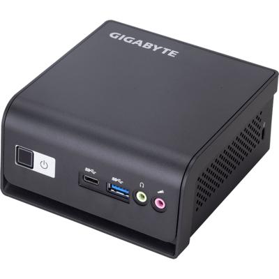 Настолен компютър Gigabyte Brix BLDP-5005R Intel® Pentium® Silver J5005 (4M Cache, up to 2.80 GHz) , Dual HDMI, Com Port - GB-BL