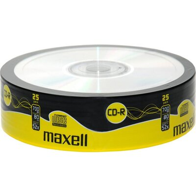 CD-R80 MAXELL, 700MB, 52x, 25 бр -