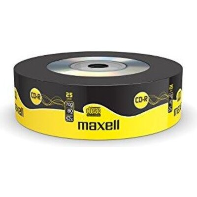 CD-R80 MAXELL Shrink /cake box/, 700MB, 52x, 25 бр