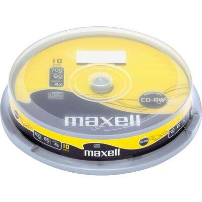 CD-RW80 MAXELL, 700MB, 52x, 10 бр -