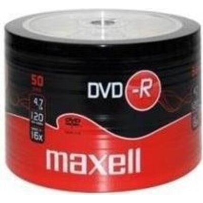 DVD-R MAXELL, 4,7 GB, 16x, 50 бр. -