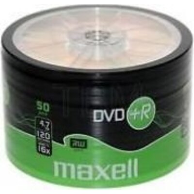 DVD+R MAXELL, 4,7 GB, 16x, 50 бр. -