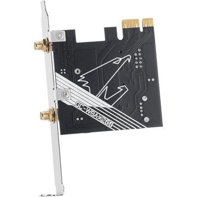 Безжична карта GIGABYTE AORUS X200 Intel® WIFI 6 2x2 802.11ax, Bluetooth 5.0