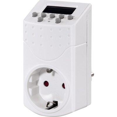 Седмичен дигитален таймер HAMA Mini 121951, Бял -