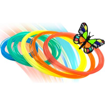 Консуматив за 3D писалка PEN 1.0 PLA 6 цвята x 2m