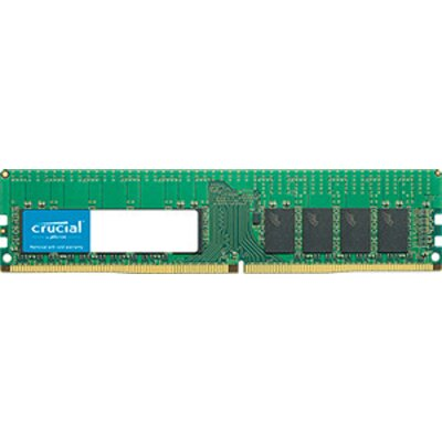 Crucial DRAM 16GB DDR4  2666 MT/s (PC4-21300) CL19 DR x8 ECC Registered DIMM 288pin, EAN: 649528779717